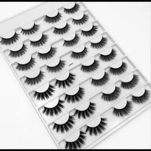 Makeup - Pre order 16 pairs mink 3D eyelashes